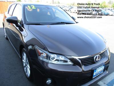 Used 2012 Lexus CT 200h Premium