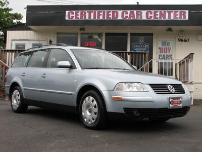 Used 2002 Volkswagen Passat GLS