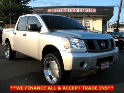 Used 2005 Nissan Titan LE Crew Cab