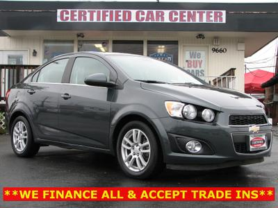 Used 2012 Chevrolet Sonic 2LT