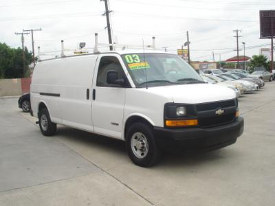 Used 2003 Chevrolet Express 3500 Cargo