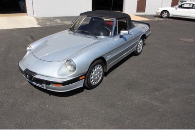 Used 1988 Alfa Romeo Spider Quadrifoglio