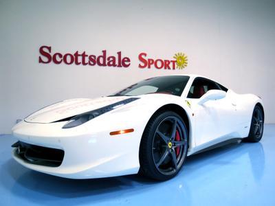 Used 2012 Ferrari 458 Italia Base