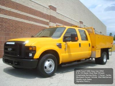 Used 2008 Ford F-350 XL Crew Cab Super Duty DRW