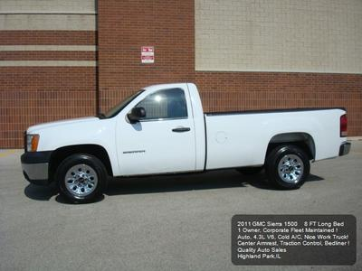 Used 2011 GMC Sierra 1500 Work Truck