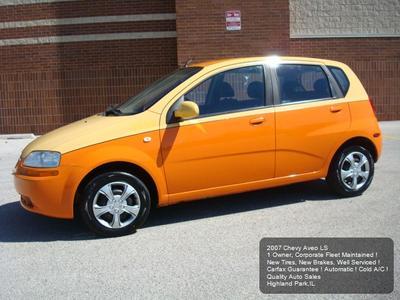 Used 2007 Chevrolet Aveo LS