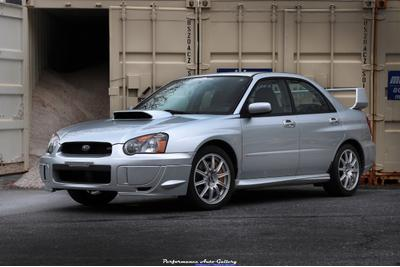 Used 2004 Subaru Impreza WRX Sti