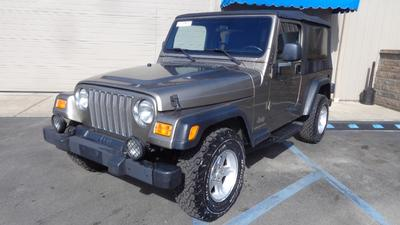 Used 2004 Jeep Wrangler Unlimited