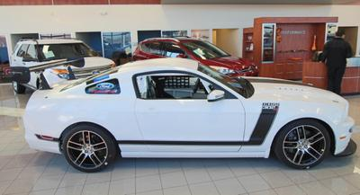 New 2013 Ford Mustang BOSS 302S FACTORY RACE CAR WITH WAY DAMPERS