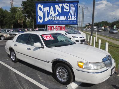 Used 1999 Lincoln Town Car Cartier