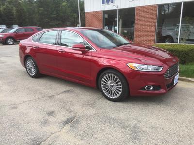 New 2016 Ford Fusion Titanium