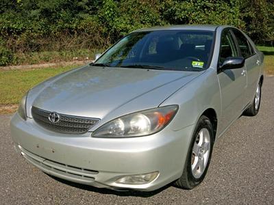 Used 2002 Toyota Camry SE
