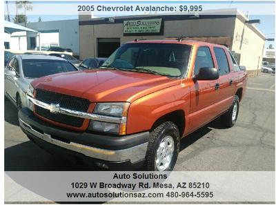 Used 2005 Chevrolet Avalanche 1500 Z71