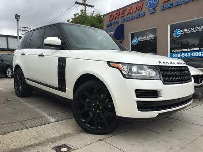 Used 2015 Land Rover Range Rover 3.0L Supercharged HSE