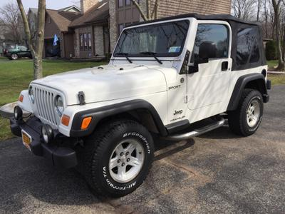 Used 2006 Jeep Wrangler