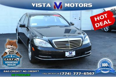 2011 Mercedes-Benz S 550 4MATIC