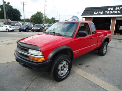Used 2002 Chevrolet S-10 LS Extended Cab
