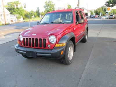 Used 2007 Jeep Liberty Sport