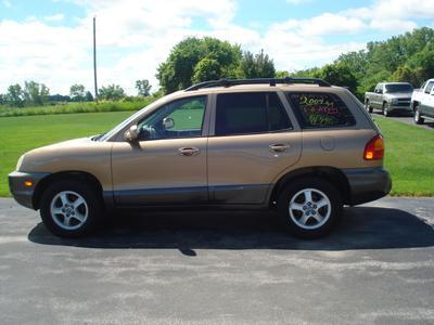 Used 2004 Hyundai Santa Fe GLS