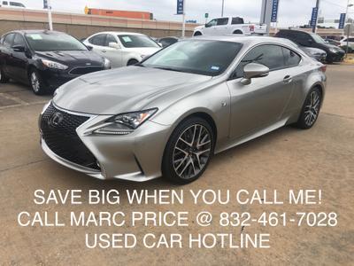 Used 2015 Lexus RC 350 Base