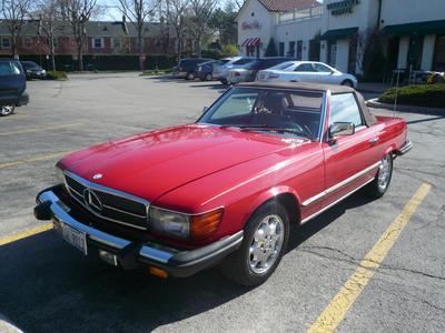 Used 1985 Mercedes-Benz 380SL