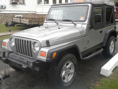 Used 2001 Jeep Wrangler Sport