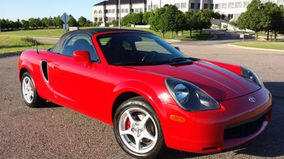 Used 2001 Toyota MR2 Spyder