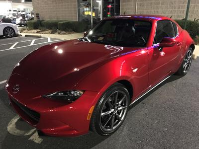Used 2017 Mazda MX-5 Miata RF Grand Touring