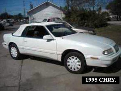 Used 1995 Chrysler LeBaron GTC