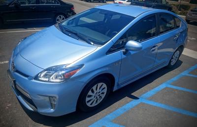 Used 2012 Toyota Prius Plug-in Base