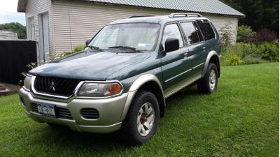Used 2003 Mitsubishi Montero Sport XLS