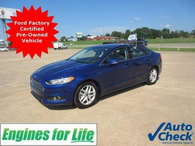 Certified 2016 Ford Fusion SE