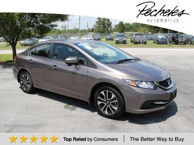 Certified 2014 Honda Civic EX