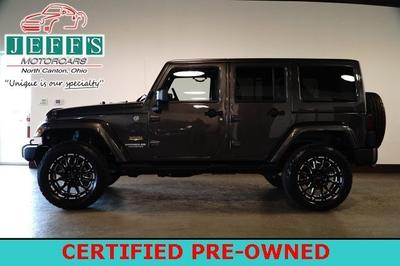 Used 2014 Jeep Wrangler Unlimited Unlimited Sahara