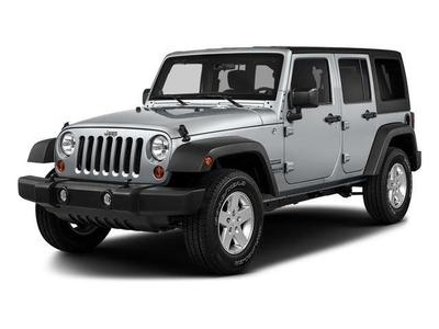 Certified 2017 Jeep Wrangler Unlimited Sport
