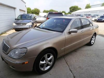 Used 2001 Mercedes-Benz S500