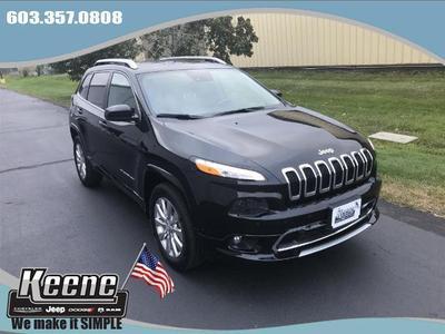 New 2018 Jeep Cherokee Overland