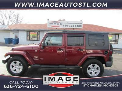 Used 2008 Jeep Wrangler Unlimited Sahara