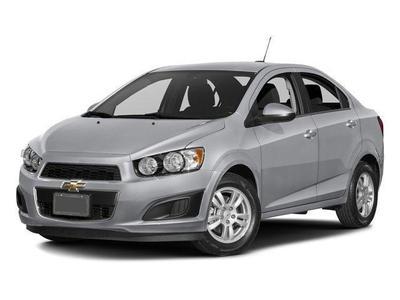 New 2016 Chevrolet Sonic LT