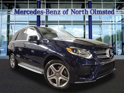 New 2017 Mercedes-Benz GLE 350 Base 4MATIC