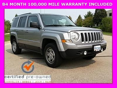 Certified 2015 Jeep Patriot Sport