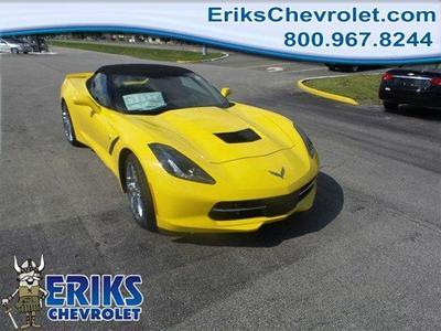 New 2016 Chevrolet Corvette Z51 3LT