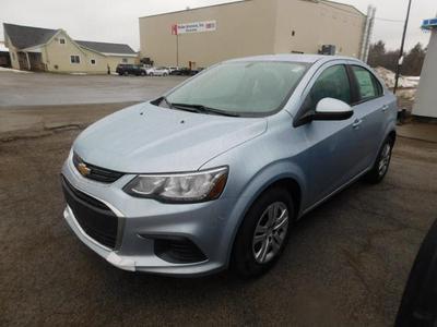 New 2017 Chevrolet Sonic LS