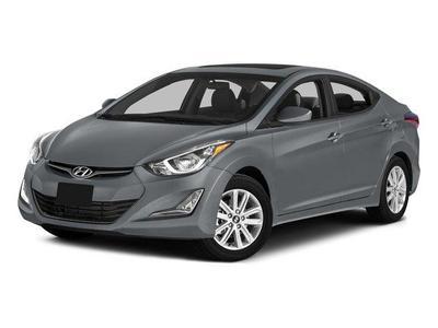 Certified 2015 Hyundai Elantra LIMITED