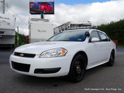 Used 2013 Chevrolet Impala Police