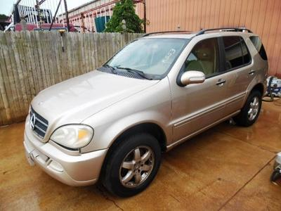 Used 2003 Mercedes-Benz ML500 4MATIC