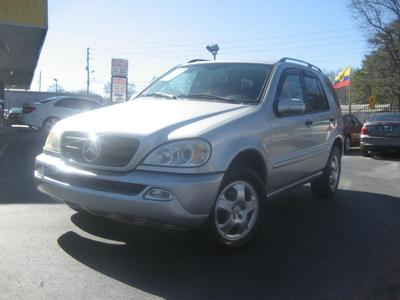 Used 2002 Mercedes-Benz ML320 4MATIC