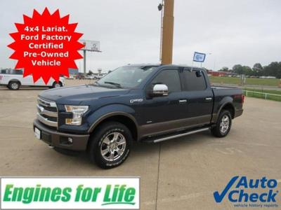 Certified 2015 Ford F-150 LARIAT