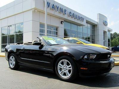 Used 2010 Ford Mustang V6