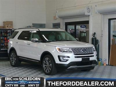 New 2016 Ford Explorer Platinum